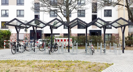 S Bahn Haltestelle Hilden Sud Bekommt Neue Fahrradstander Stadt Hilden